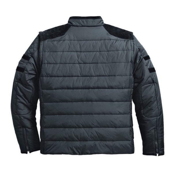 Men's Black Burnside Avenue Convertible Jacket